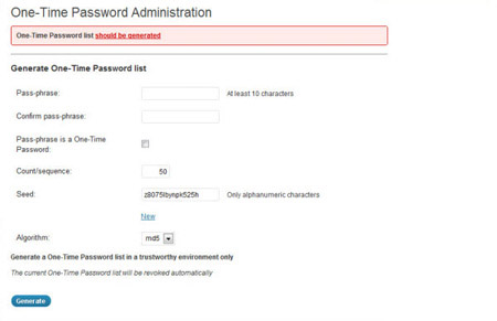 one time password Hardening WordPress Security: 25 Essential Plugins + Tips